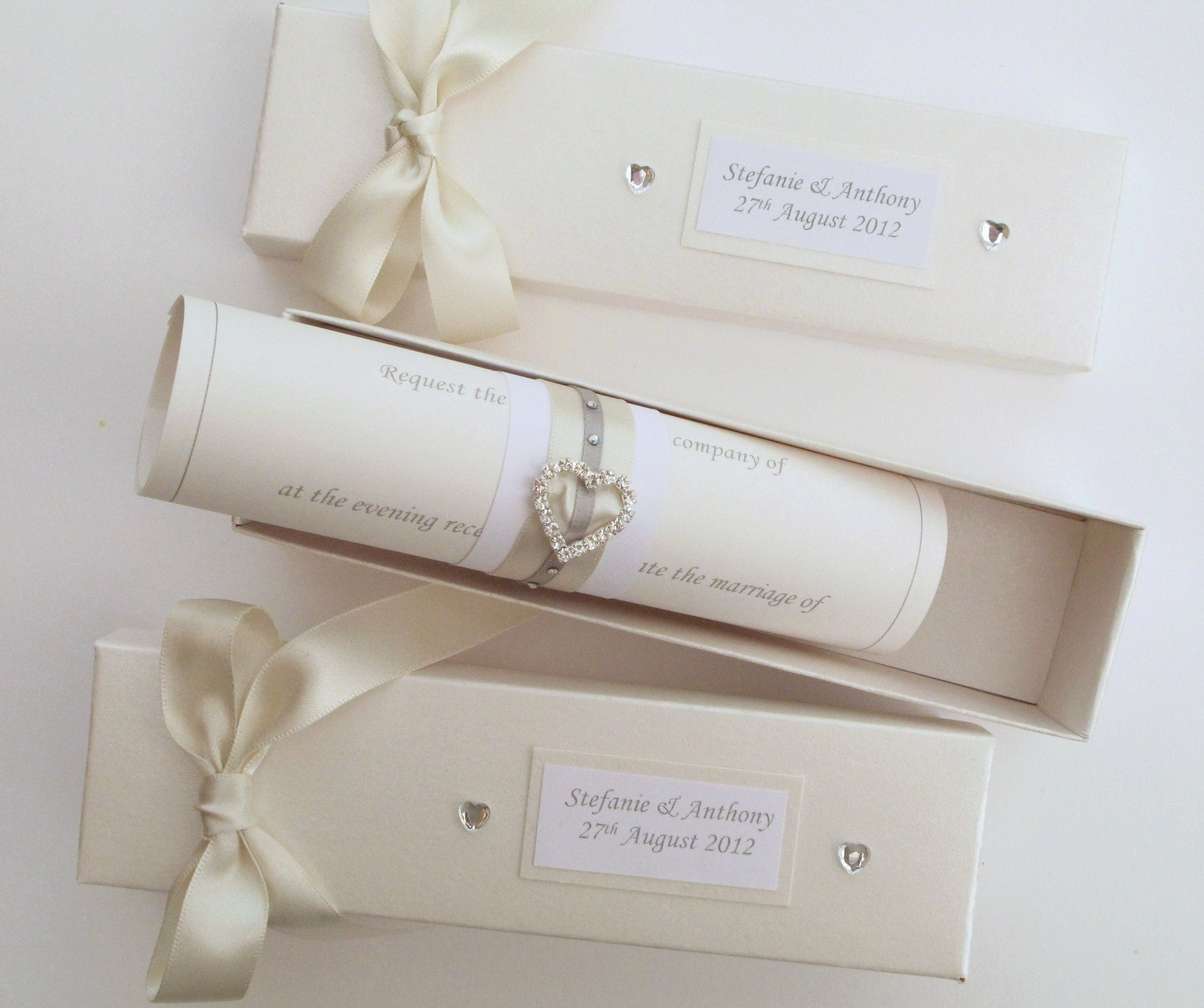 How to Make Scroll Invitation Luxury Scroll Wedding Invitations