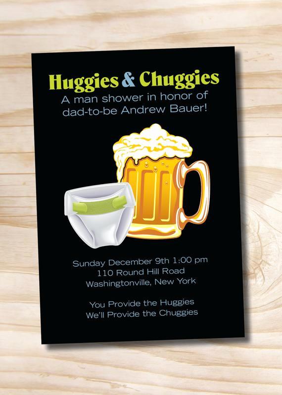 Huggies and Chuggies Invitation Beautiful Huggies & Chuggies Bbq Beer and Babies Diaper Party