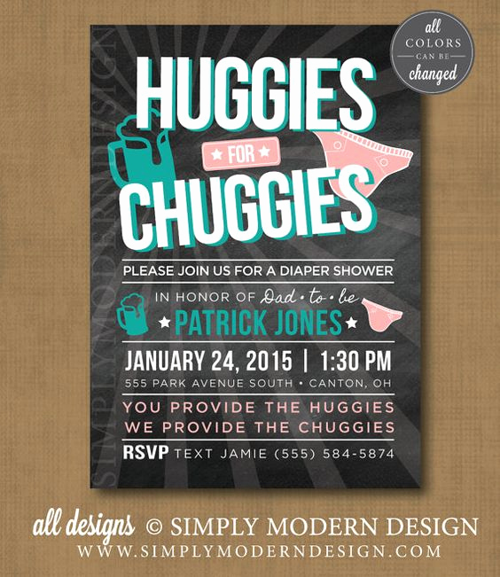 Huggies and Chuggies Invitation Best Of Pinterest • the World's Catalog Of Ideas