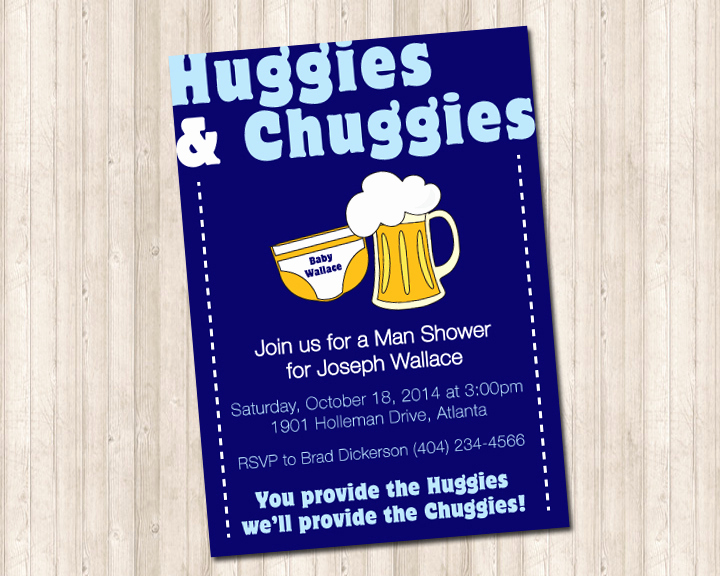 Huggies and Chuggies Invitation Inspirational Huggies & Chuggies Baby Shower Invitation Pure Design