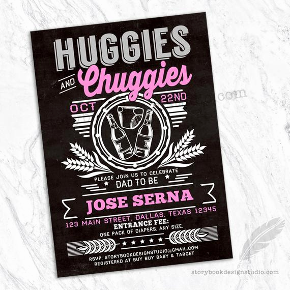 Huggies and Chuggies Invitation Unique Huggies and Chuggies Baby Shower Invitations Huggies
