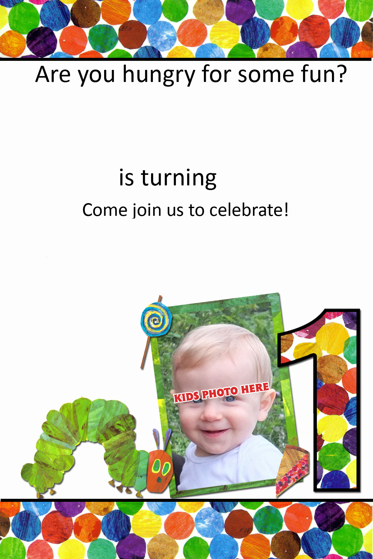 Hungry Caterpillar Invitation Template Fresh Free Printable Very Hungry Caterpillar 1st Birthday