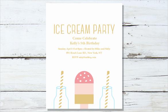 Ice Cream Invitation Template Awesome 59 Invitation Templates Psd Ai Word Indesign