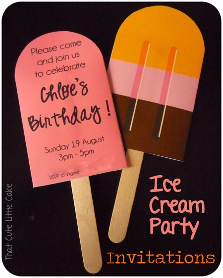 Ice Cream Party Invitation Elegant that Cute Little Cake Ice Cream Party Invitations