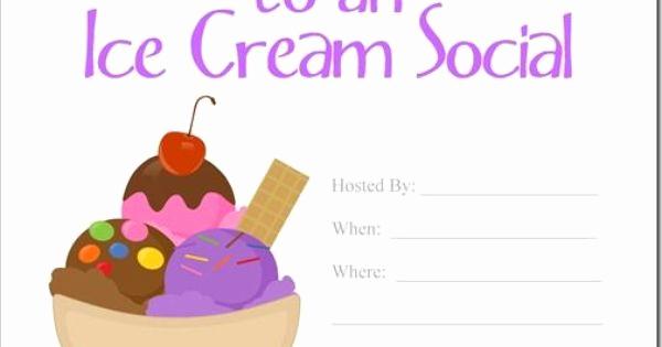 Ice Cream social Invitation Lovely Ice Cream social Invitation Ice Cream social Invite Ice