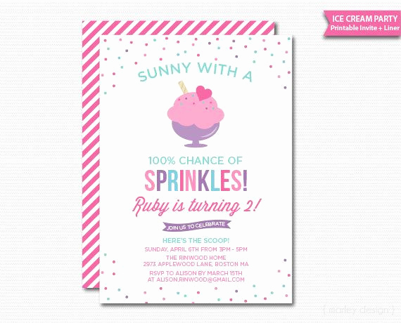 Ice Cream social Invitation Template Beautiful 25 Unique Summer Party Invites Ideas On Pinterest