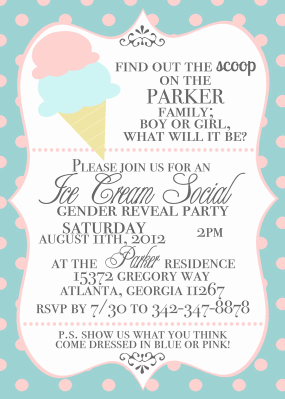Ice Cream social Invitation Templates Best Of Juneberry Lane Diy Ruffled Ice Cream Cones