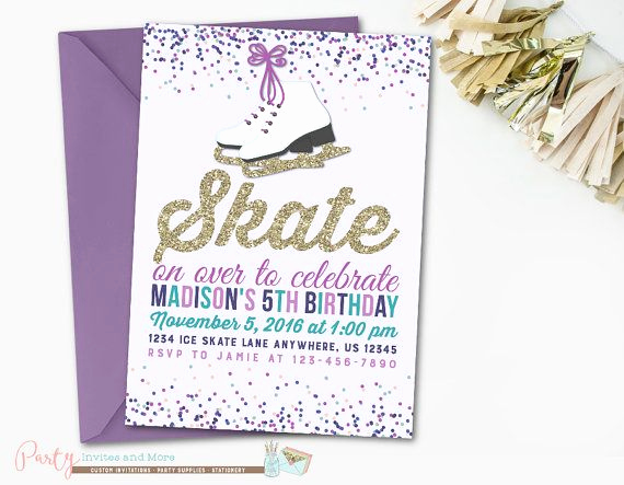 Ice Skating Party Invitation Luxury Best 25 Ice Skating Party Ideas On Pinterest