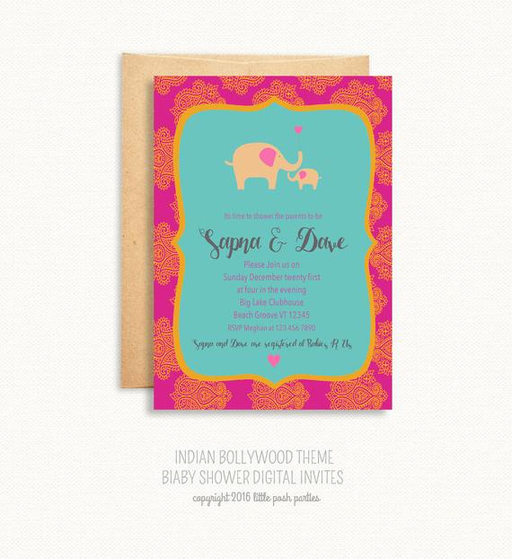 Indian Baby Shower Invitation Best Of Baby Shower Invitation Indian theme Baby by Littleposhparties