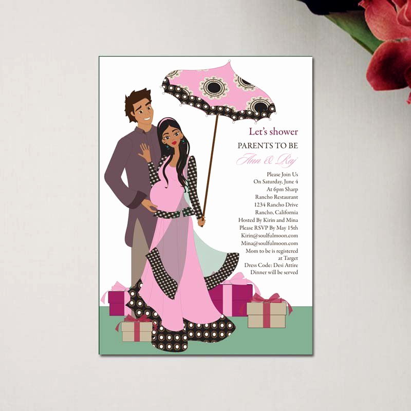 Indian Baby Shower Invitation Best Of E Cards Baby Shower Invitations