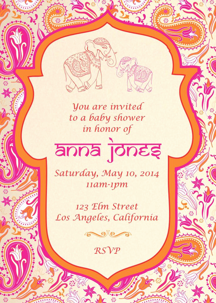 Indian Baby Shower Invitation Lovely Best 25 Indian Baby Showers Ideas On Pinterest