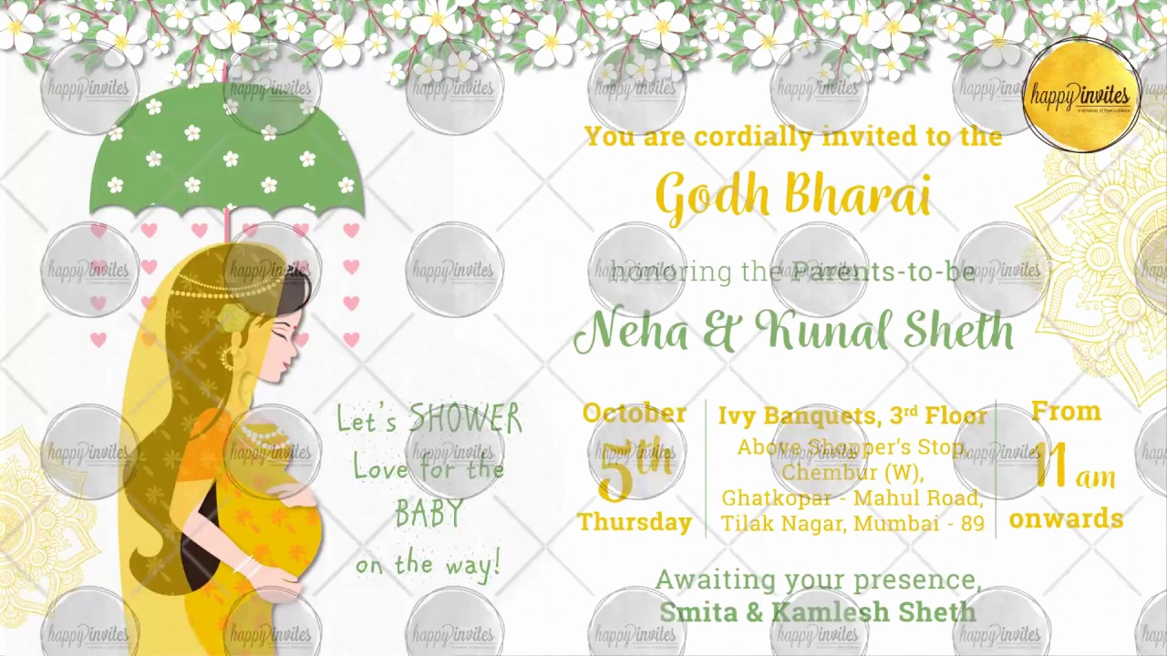 Indian Baby Shower Invitation Wording Luxury Indian Baby Shower Invitation Party