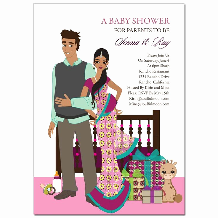 Indian Baby Shower Invitation Wording New Indian Baby Shower Invitation In Hindi Google Search
