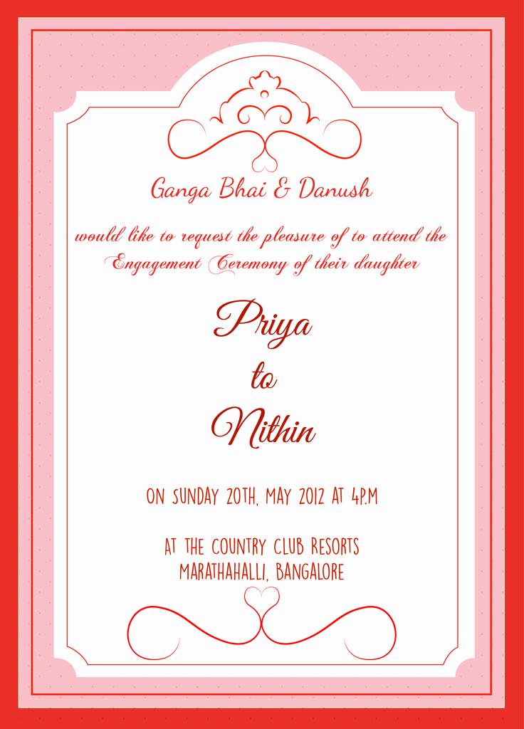 Indian Engagement Invitation Wording Elegant 13 Best Engagement Invitation Wordings Images On Pinterest