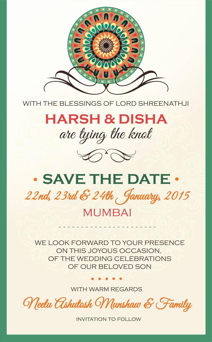 Indian Engagement Invitation Wording Elegant 25 Best Indian Wedding Cards Ideas On Pinterest