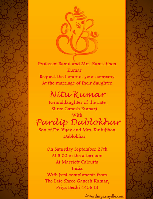 Indian Engagement Invitation Wording Inspirational Indian Wedding Invitation Wording Samples Wordings and