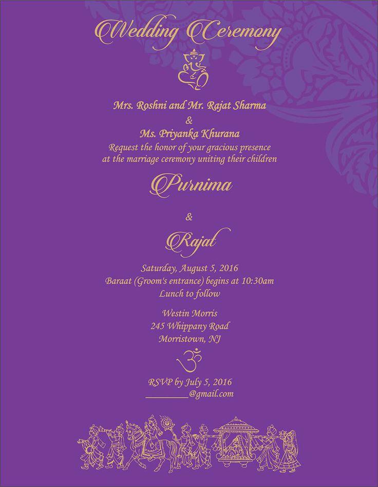 Indian Engagement Invitation Wording Luxury Wedding Invitation Wording for Hindu Wedding Ceremony