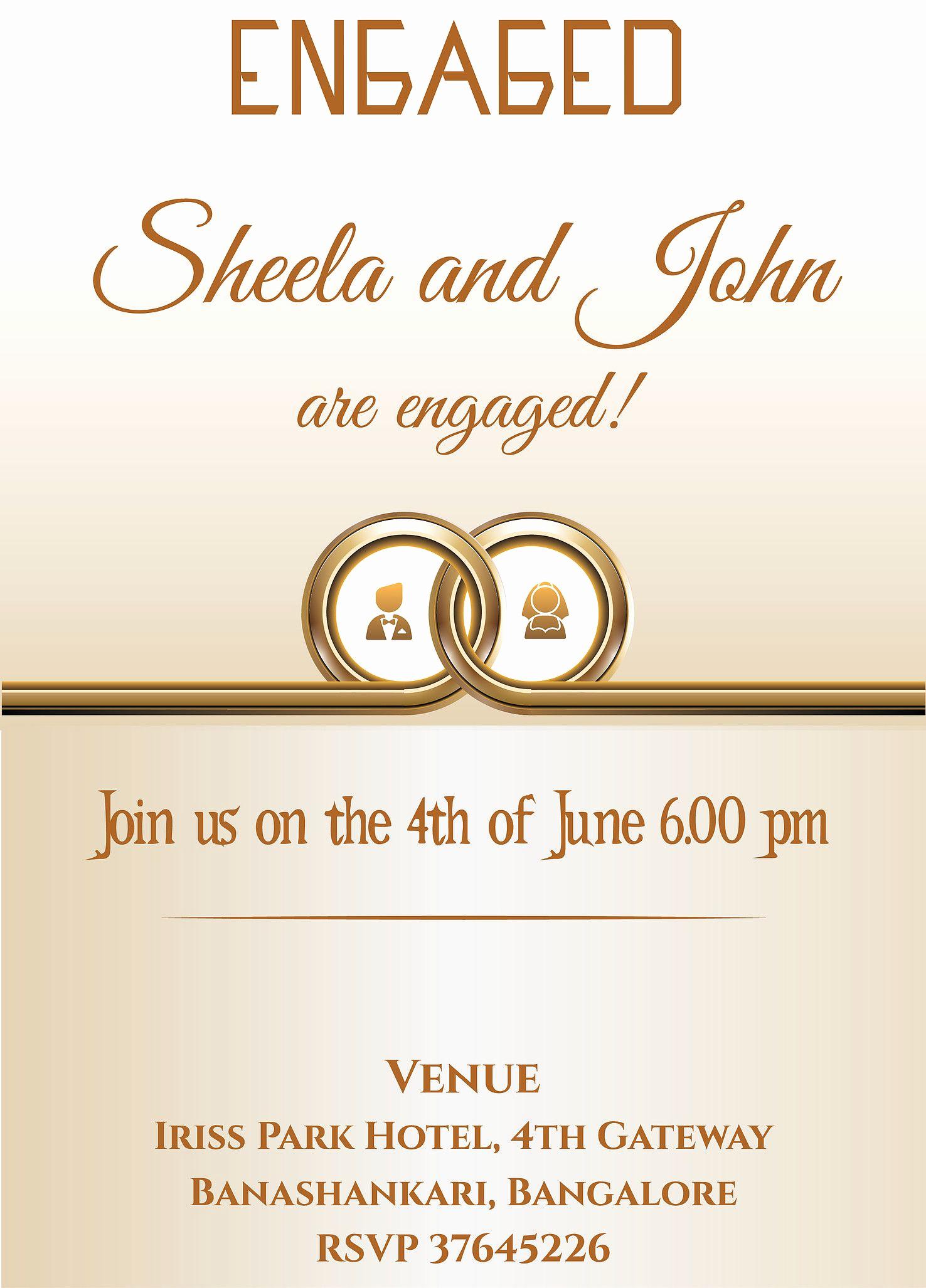 Indian Engagement Invitation Wording Unique Grab Free Wordings for Indian Engagement Betrothal event