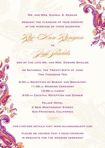 Indian Wedding Invitation Sample Lovely Sample Wedding Invitation Wording Wedding Cards