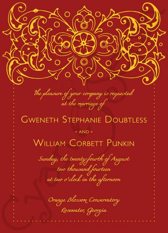 Indian Wedding Invitation Templates Best Of Printable Wedding Invitation 5x7 Bollywood by Cyanandsepia