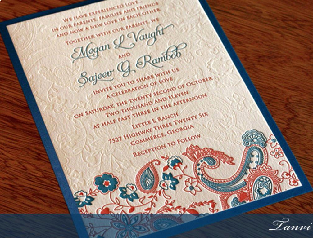 Indian Wedding Invitation Templates Luxury south Indian Wedding Invitation Wordings for Friends