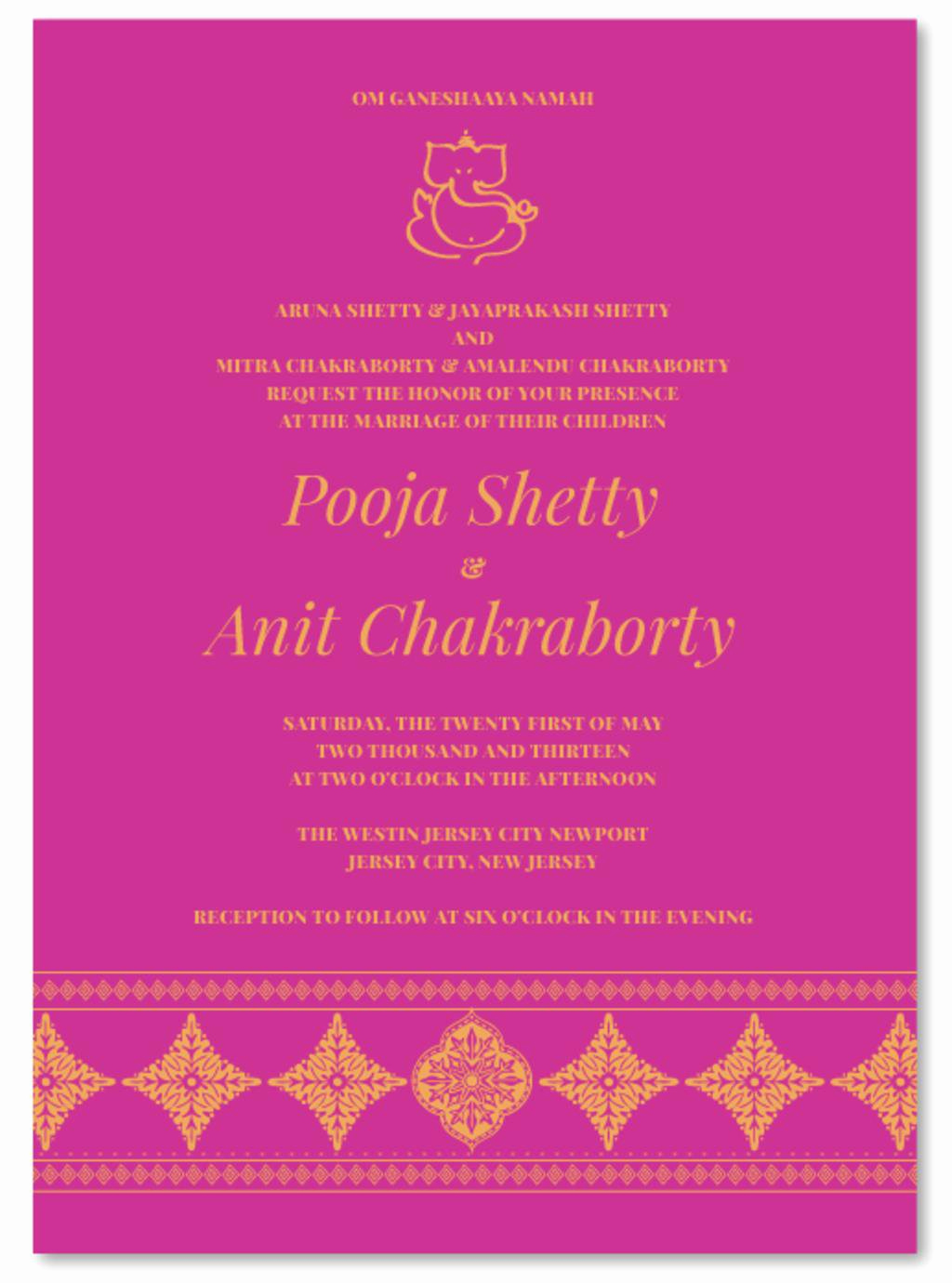 Indian Wedding Invitation Wording Awesome Friends Invitation for Wedding