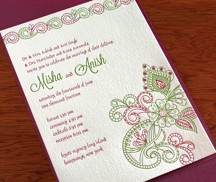 Indian Wedding Invitation Wording Best Of Indian Wedding Invitation Design Gallery Misha