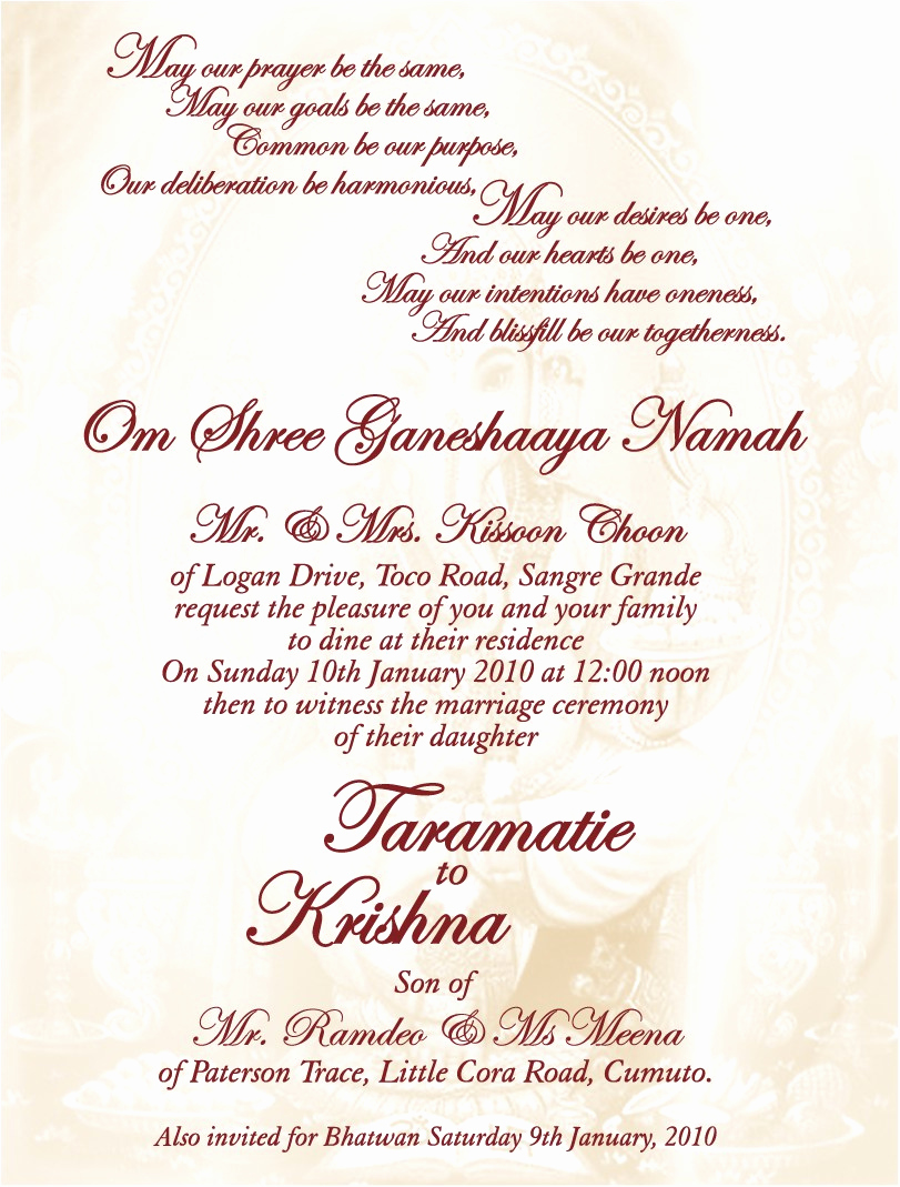 Indian Wedding Invitation Wording Fresh Wedding Invitation Fascinating Indian Wedding Invitations