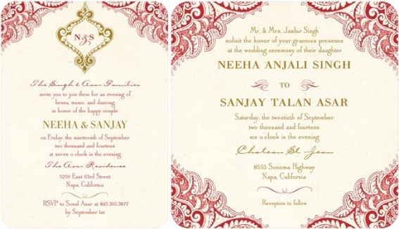 Indian Wedding Invitation Wording Unique top Indian Wedding Invitation Cards