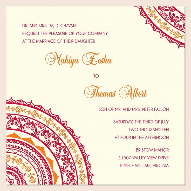 Indian Wedding Invitation Wording Unique Wedding Invitation Wording Ideas