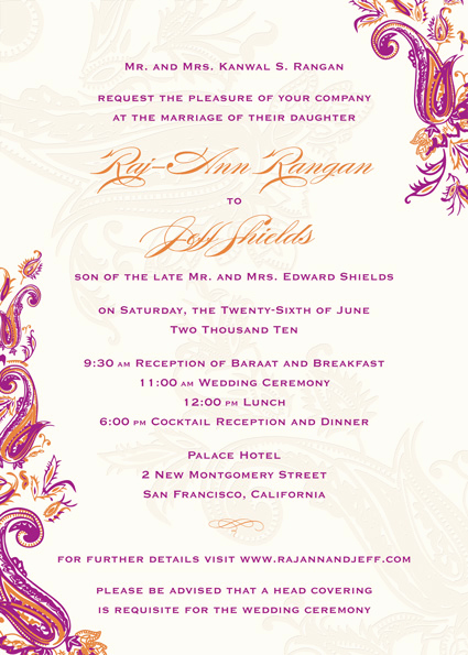 Indian Wedding Reception Invitation Wording Lovely Indian Wedding Invitation Quotes Quotesgram