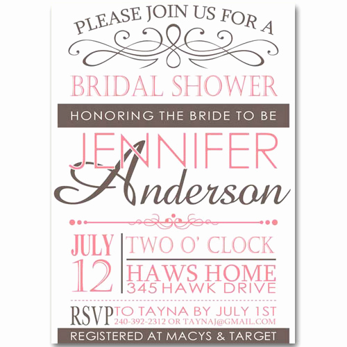 Inexpensive Bridal Shower Invitation Beautiful Pink Vintage Bridal Shower Invitations Cheap Ewbs028 as