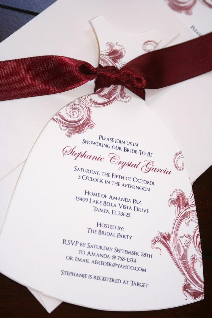 Inexpensive Bridal Shower Invitation New 1000 Images About Bridal Shower Invitations On Pinterest