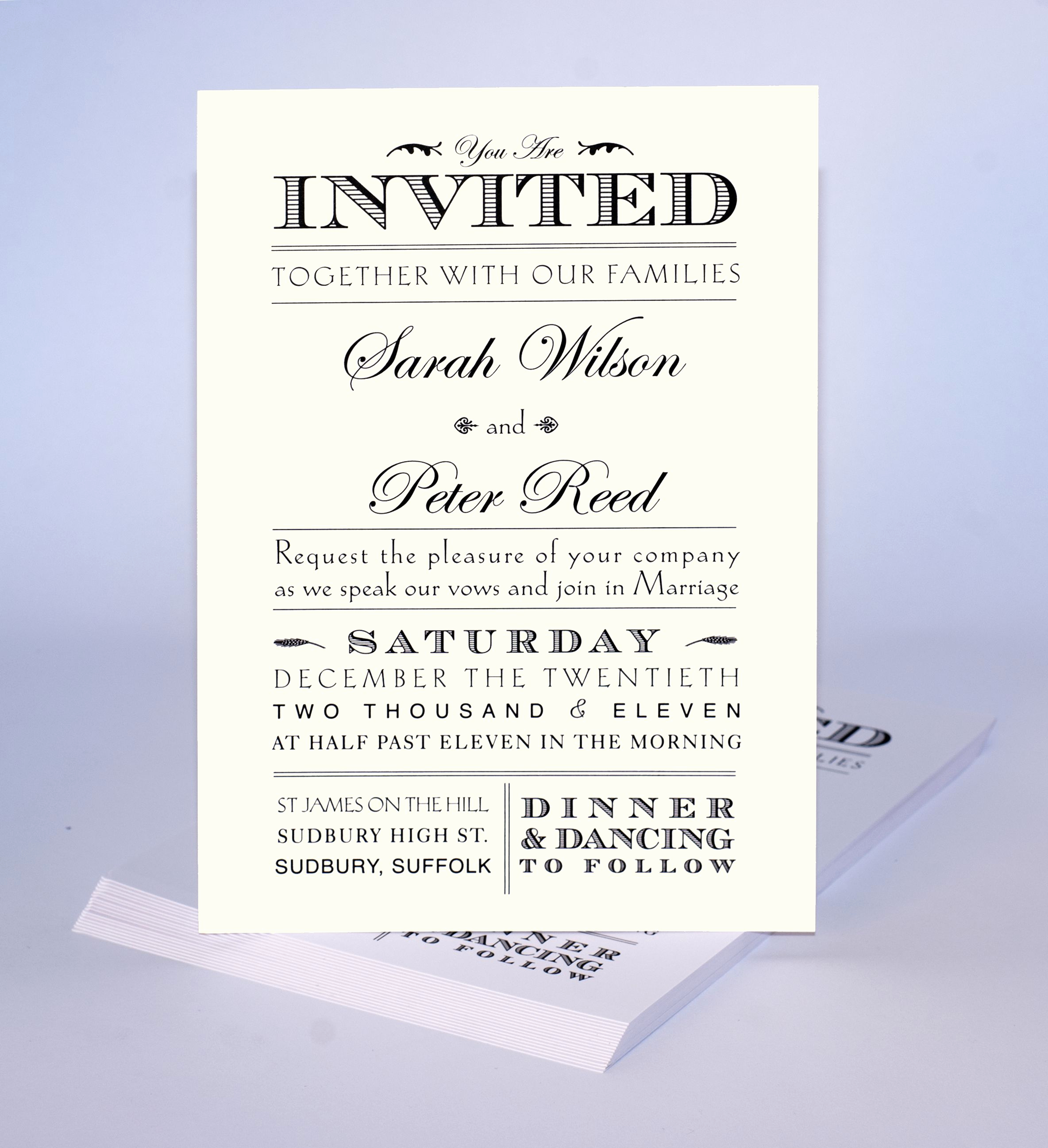 Informal Wedding Invitation Wording Awesome Inspiration Invitations
