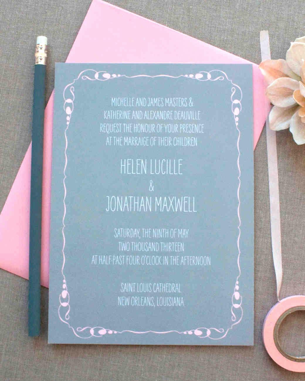 Informal Wedding Invitation Wording Beautiful 8 Details to Include when Wording Your Wedding Invitation