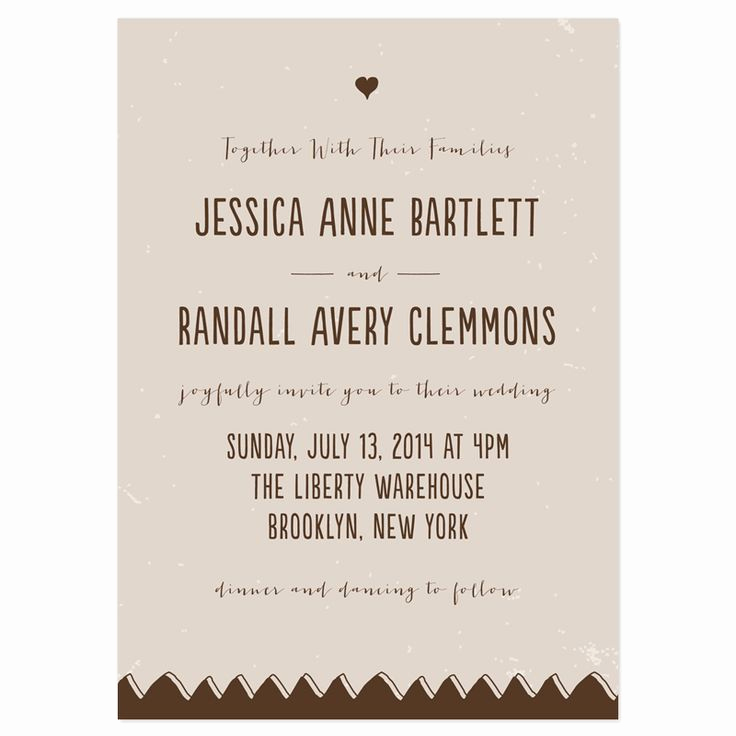 Informal Wedding Invitation Wording Best Of Drawn to Her Wedding Invitations