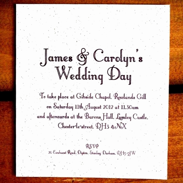 Informal Wedding Invitation Wording Luxury Cool 8 Casual Wedding Invite Wording