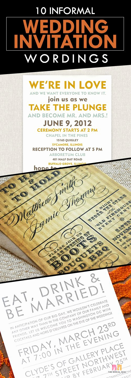 Informal Wedding Invitation Wording Unique 1000 Ideas About Informal Weddings On Pinterest