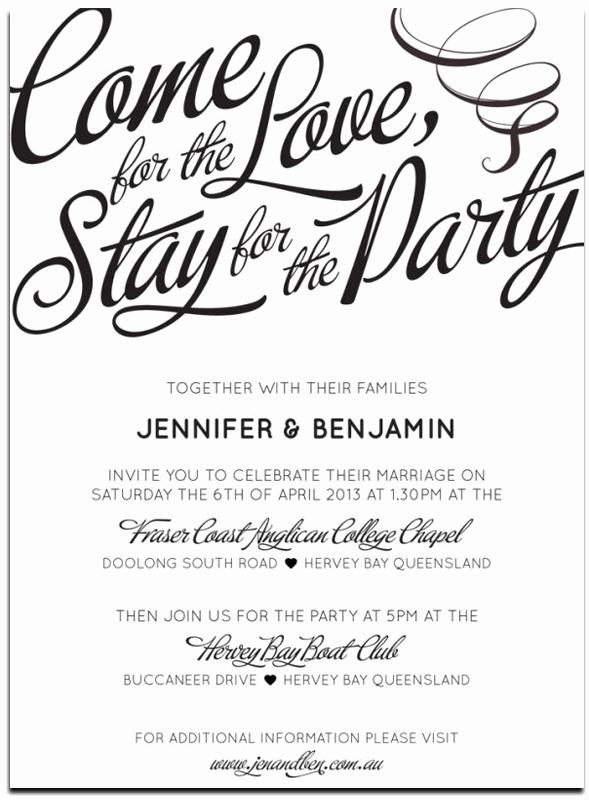 Informal Wedding Invitation Wording Unique 20 Popular Wedding Invitation Wording & Diy Templates Ideas