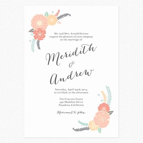 Informal Wedding Invitation Wording Unique 20 Unique Casual Wedding Invitation Wording