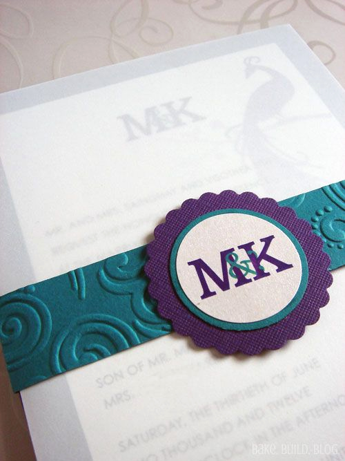 Invitation Belly Band Diy Elegant Wedding Invitation with Belly Band