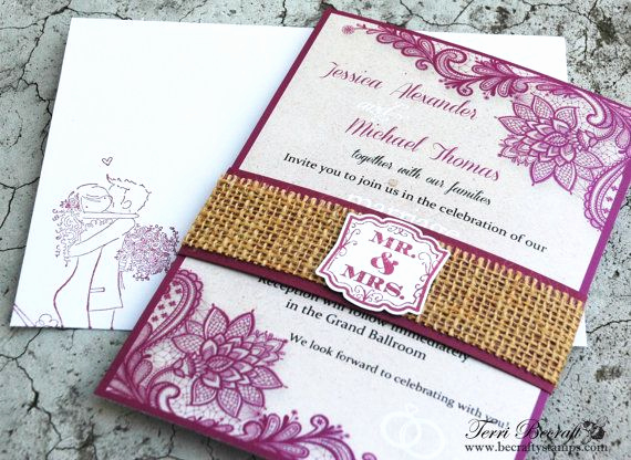Invitation Belly Band Diy Fresh Diy Wedding Invitations with Burlap Belly Band Burlap
