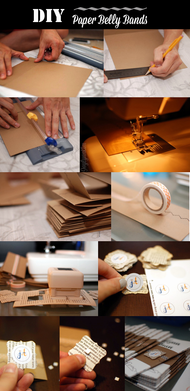 Invitation Belly Band Diy Luxury Diy Kraft Paper Belly Bands