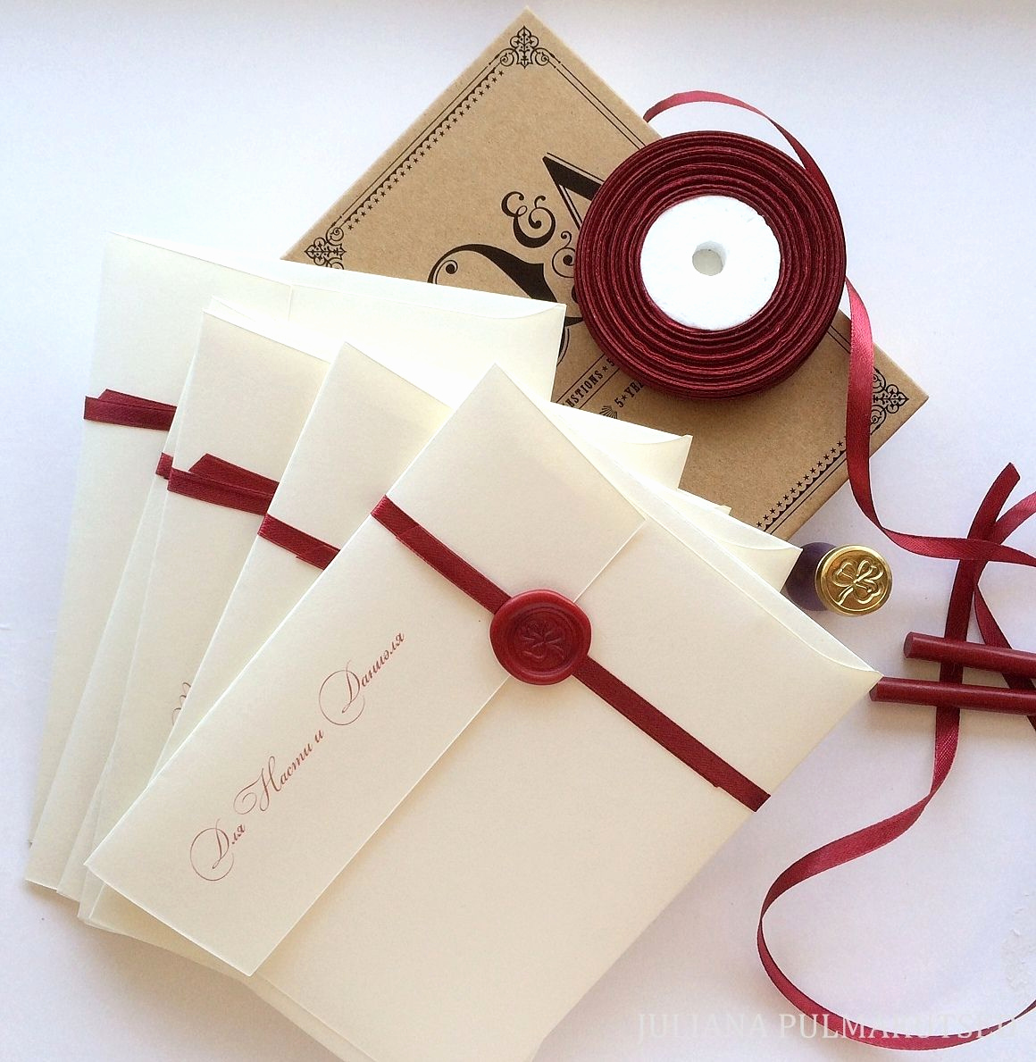 Invitation Belly Bands Diy Elegant Create A Belly Band Of Ribbon Sealed with A Special