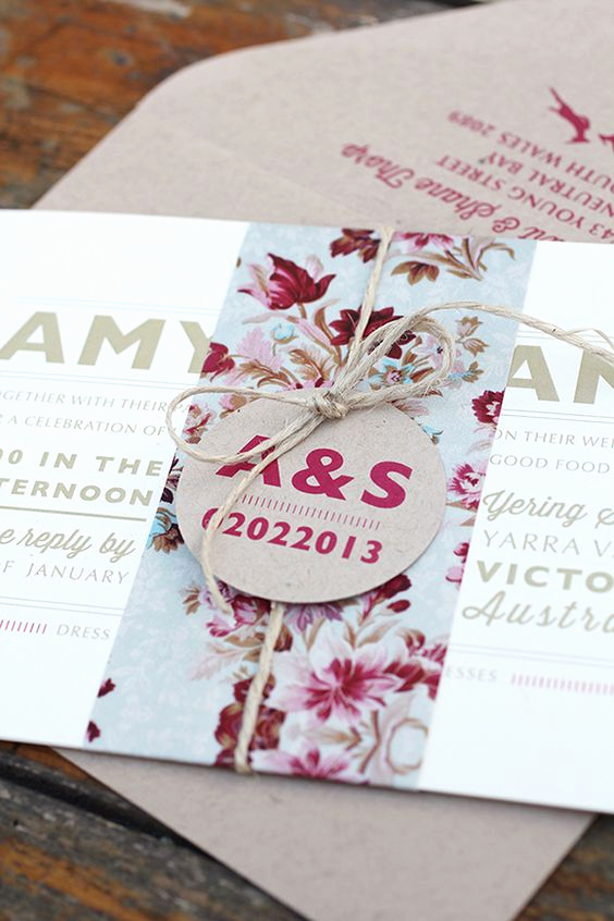 Invitation Belly Bands Diy Luxury Wedding Stationery Suites From Ruby & Willow