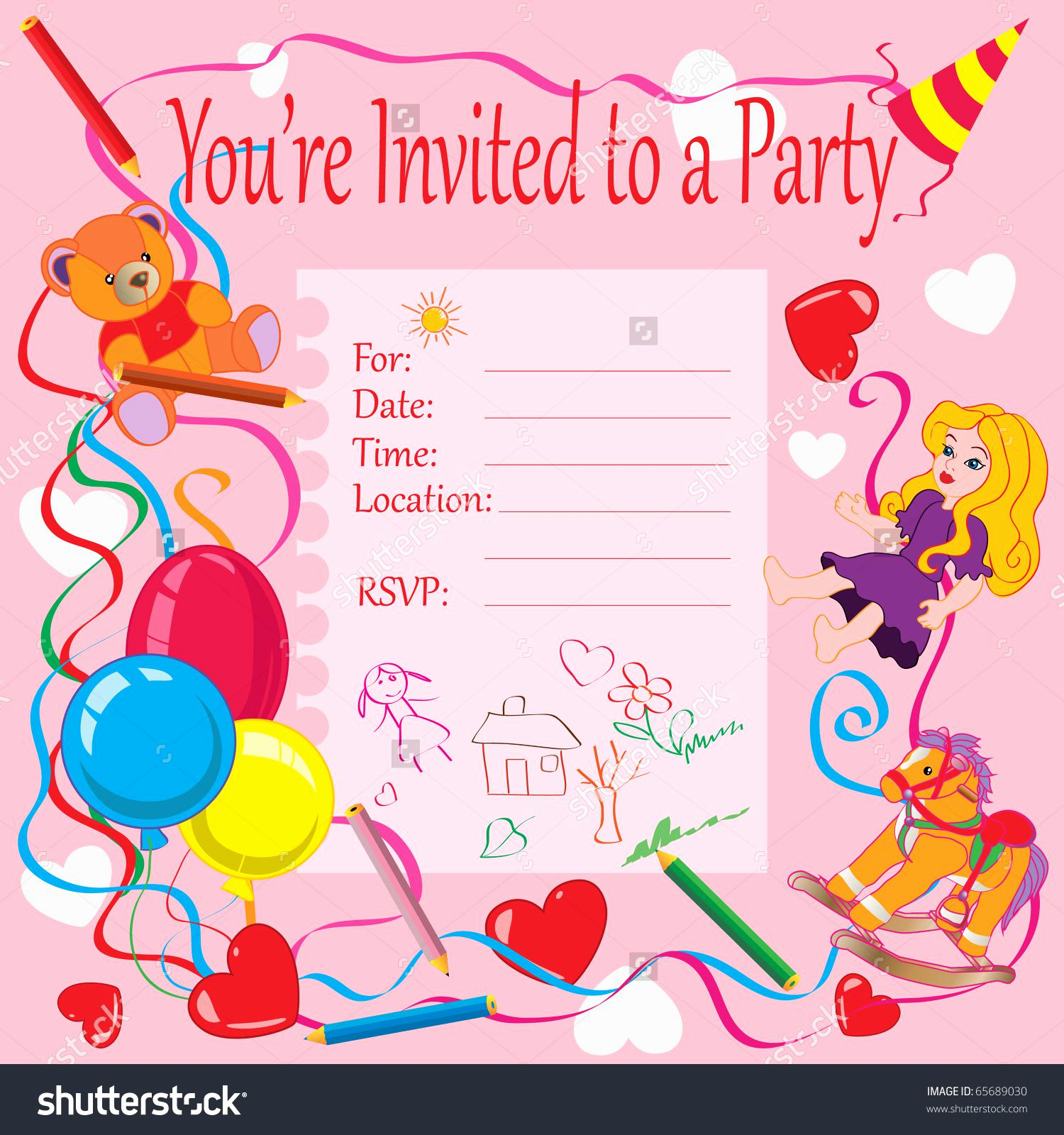 Invitation Card for Birthday Best Of 20 Birthday Invitations Cards – Sample Wording Printable