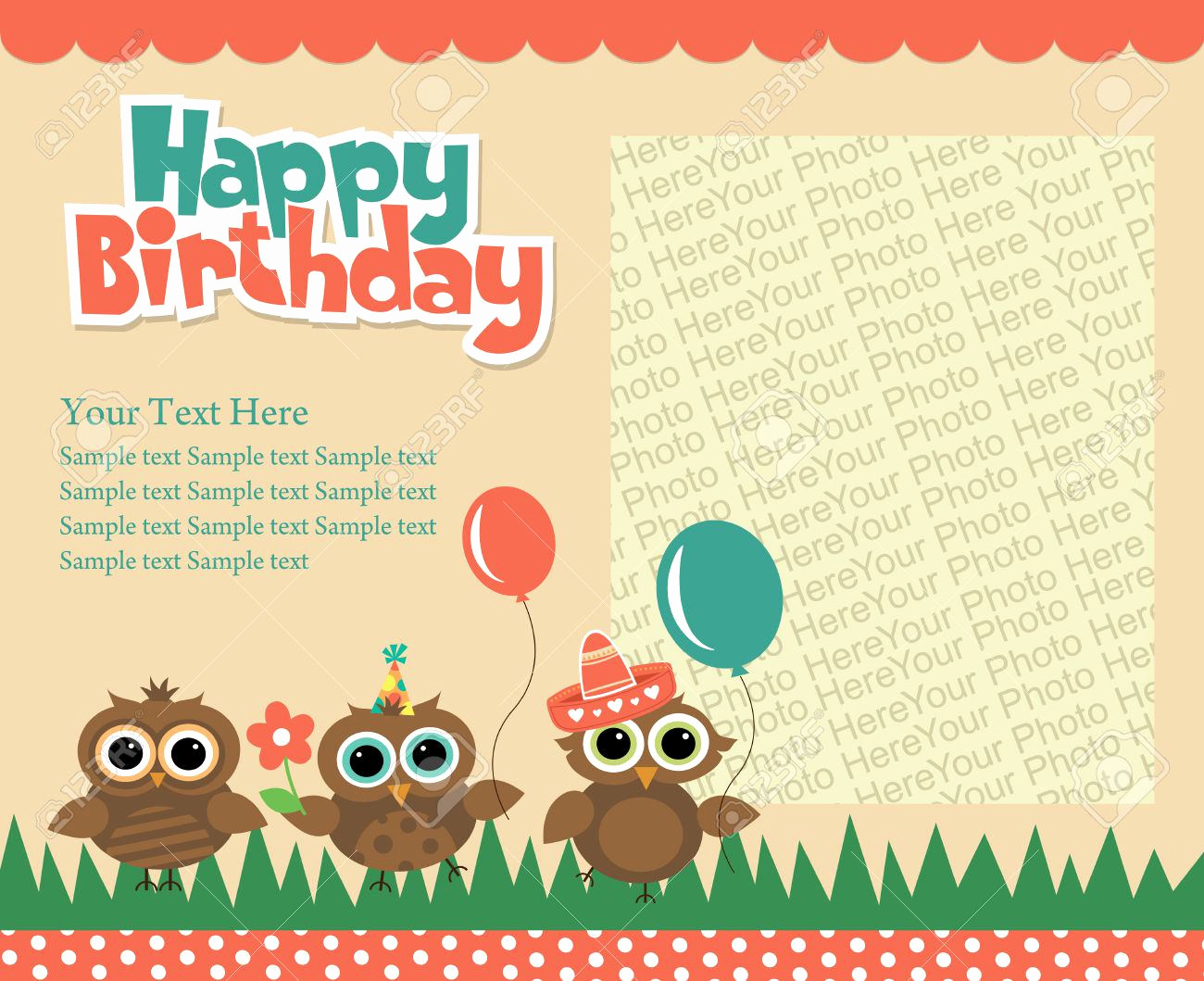 Invitation Card for Birthday Unique Birthday Invitation Happy Birthday Invitation Cards