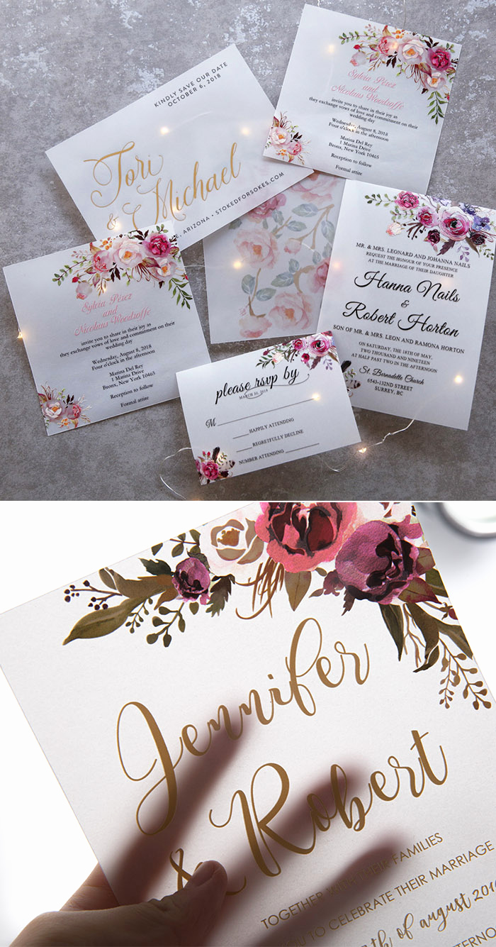 Invitation Card for Weddings Best Of the Hottest Wedding Invitations Trends for 2019