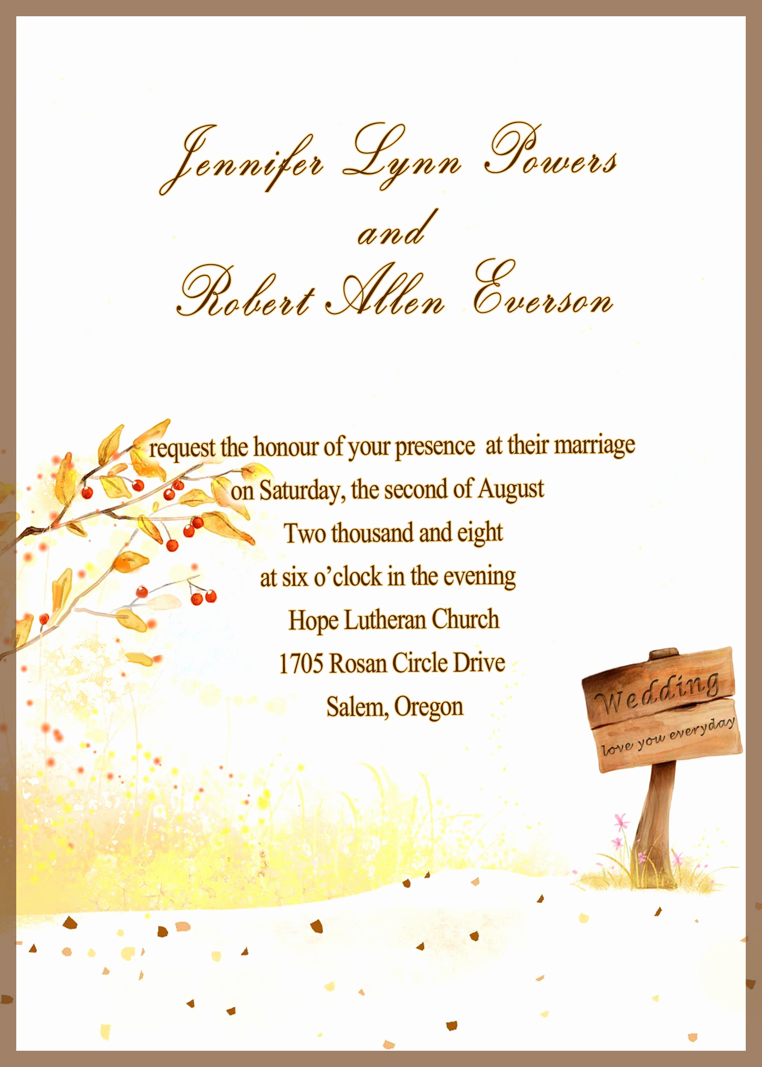 Invitation Card for Weddings Luxury Yellow Wedding Invitations at Elegant Wedding Invites