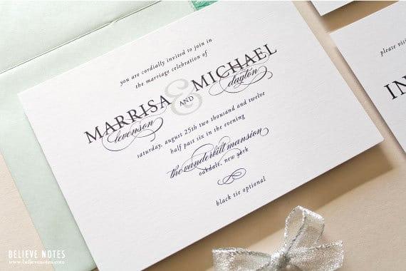 Invitation Dress Code Wording Elegant Dress Code Wedding Invitation